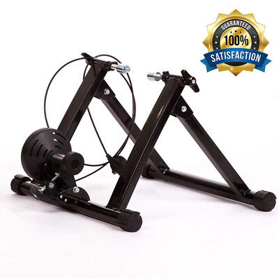 Indoor Bicycle Bike Trainer Exercise Stand 5 levels of Resistance Magnetic Stand