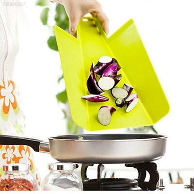 A114 Foldable Plastic Non-Slip Hanging Cutting Board Kitchenware Cookin Tool
