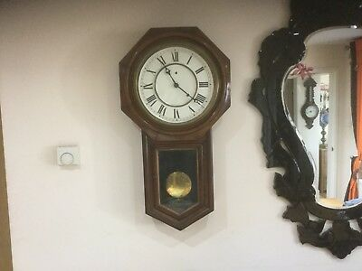 Antique Old Ansonia Wall Clock