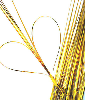 50 x Strands Flexi Gold Bear Onion Grass Artificial Designer Bouquets Corsage