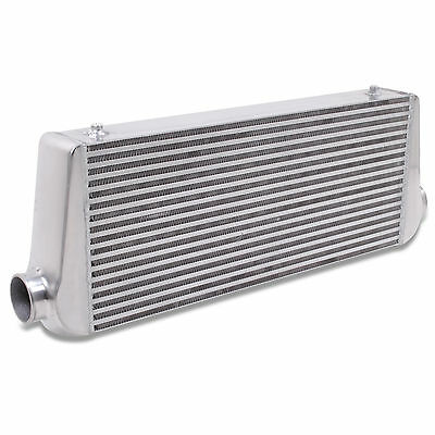"3"" 76mm EXTRA LARGE CUSTOM DIY TURBO CONVERSION FRONT MOUNT INTERCOOLER FMIC"