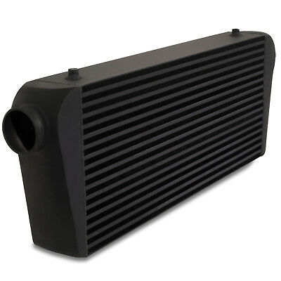 "3"" 76mm BLACK EXTRA LARGE 700x300x100mm DIY DRIFT FRONT MOUNT INTERCOOLER FMIC"
