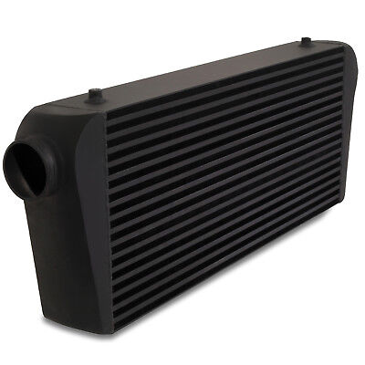 "3"" 76mm XL BLACK ALLOY 700x300x100mm TRACK KIT CAR FRONT MOUNT INTERCOOLER FMIC"
