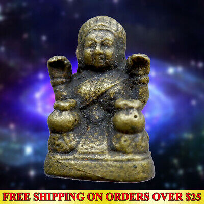 Powerful Magic God Nat Bo Bo Gyi Amulet Statue Wealth Talisman Lucky Fetish Rich