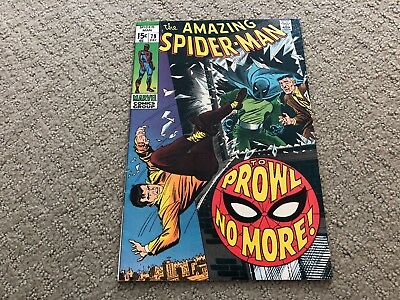 Amazing Spider-Man #79 2nd Prowler! Marvel Higher Grade!
