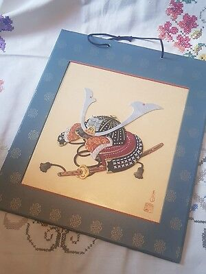 Japanese Samurai Silk/fabric Panel