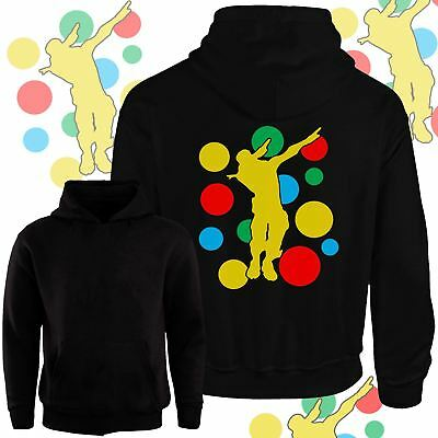 New Kids Boys Girls Dab Spotty Hoodies Children In Need Day Dabbing School Top
