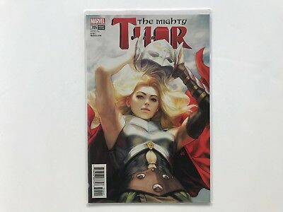 Marvel Mighty Thor #705 Stanley Lau Artgerm Jane Foster Unmasked Variant Trade