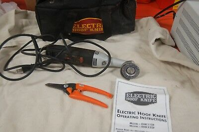 Electric Hoof Trimmer for Goats