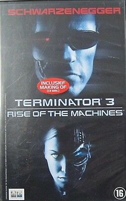 Terminator 3 - Rise Of The Machines  - Vhs