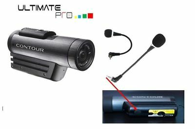Microphone for Contour Plus 2 +2 action Camera accessory active windscreen kit