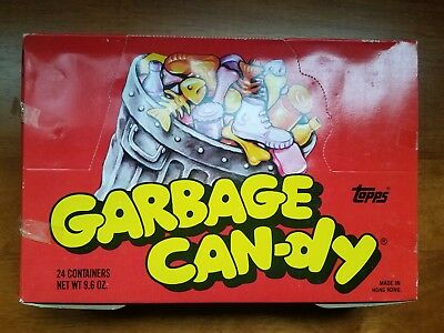 Vintage Topps Garbage Can-dy Candy full unopened box 1980s