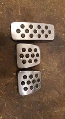 Astra Vxr Turbo Silver Metal Pedals Mk5 Z20Leh Or Gsi Mk4 Coupe Etc