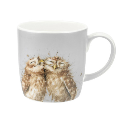 Wrendale Designs Large Mug by Royal Worcester The Twits Owls Boxed