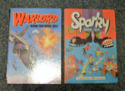 Sparky Annual 1979 & Warlord Annual 1991