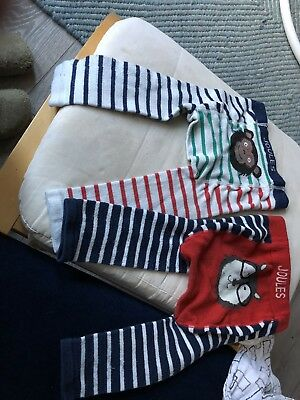 joules baby boy knitted leggings 1-2 years