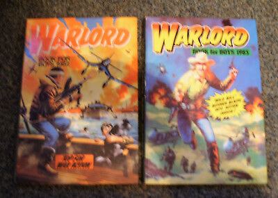 Warlord Annuals - 1982 & 1983 - Excellent