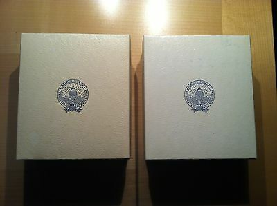 1973 Richard Nixon Sterling Silver and Bronze Official Inaugural Medals Proof