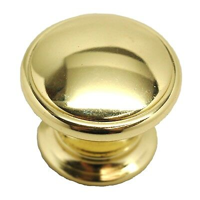 "AMEROCK Allison Polished Brass 1-1/4"" Cabinet Knob Pull BP53012-3 25+FREESHIP"