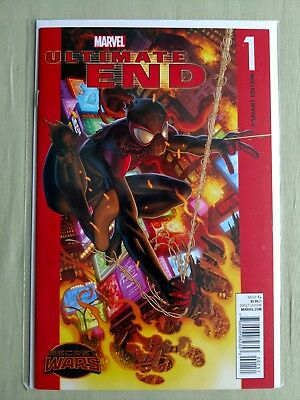 Ultimate End #1 (Homage VARIANT Cover; Brian Michael Bendis)