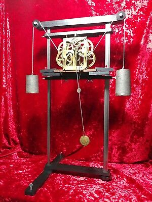 Ultra Clock Movement Test Stand - Made in U.S.A -.WILL NOT MAR BRASS PLATES