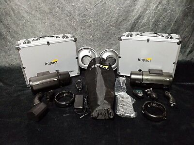Impact Venture TTL-600 Battery-Powered Monolight 2x kit Sony Controller Bowens