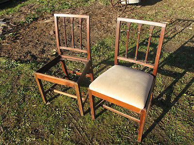 Georgian chairs for restoration