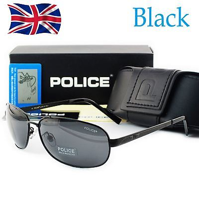 2018 Brand New Police Men's Polarized Driving Aviator Outdoor Sunglasses AB