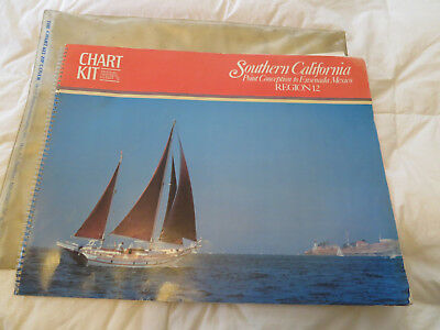 Chart Kit BBA Southern California Point Conception to Ensenada, MX  *Region 12*