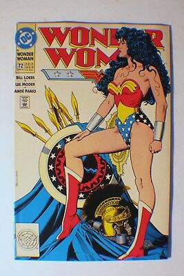 Wonder Woman 72 (March 93 DC) Classic Brian Bolland cover! VF. buy it now !