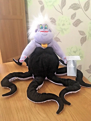 Disney Store Ursula Soft Plush Toy The Little Mermaid Sea Witch Brand New & Tags