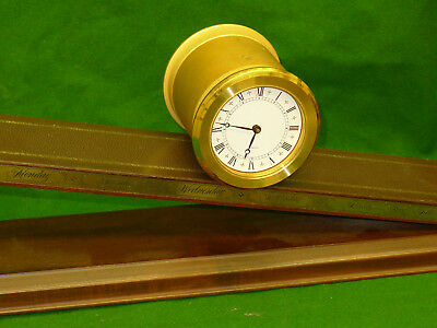 RARE Novelty Imhof INCLINED PLANE clock