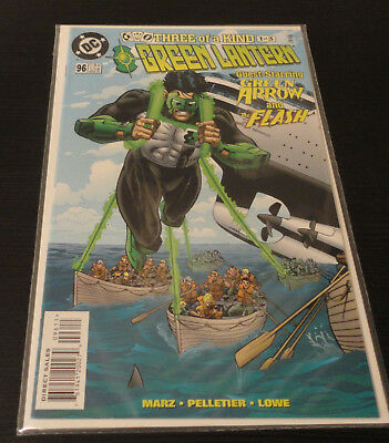 Green Lantern (1990 2nd Series) DC Issue #96 The Flash Green Arrow Very Fine Con