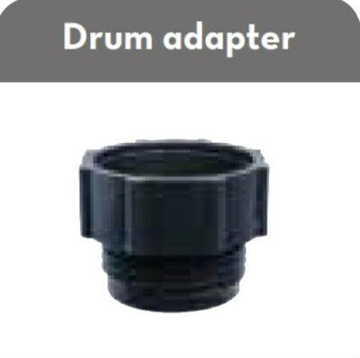 """Piusi F19473000 2-1/2"""" x 5 Buttress Thread to 2"""" Drum Bung Hole Adapter"""