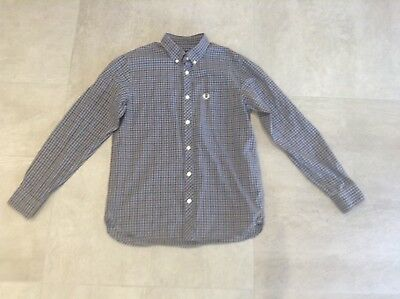 Fred Perry Boys Shirt Size Large