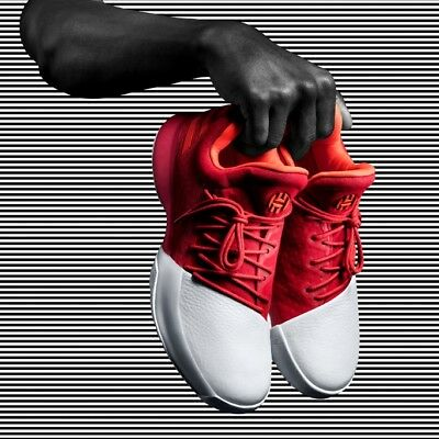 best loved b855d a8e85 Adidas James Harden Vol.1 Men s Basketball Shoes BW0547 UK 10-11 Triple Red