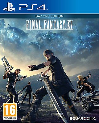 Final Fantasy XV - Day One Edition (Sony PS4) BRAND NEW & SEALED - FAST DISPATCH