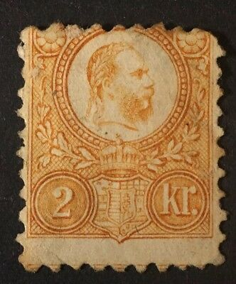 Hungary Scott# 7 Mint (thin)