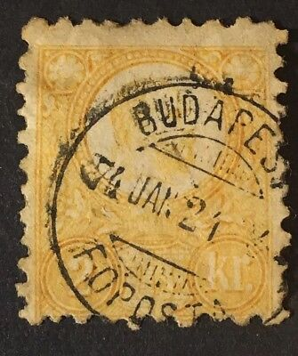 Hungary Scott# 7a w/ Great Cancel