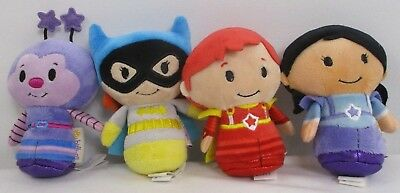 Hallmark Itty Bitty Bittys Set Of 4 Rainbow Brite Batgirl