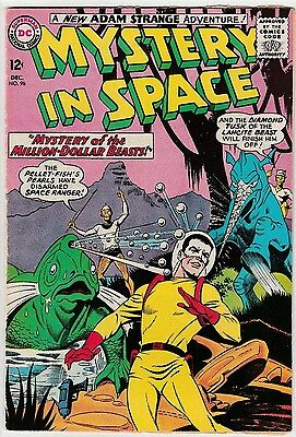 US DC comic Silver Age; Mystery in space #96 CENTS COPY Graded G to VG