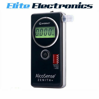 Andatech Alcosense Zenith Plus Industrial Fuel Cell Alcohol Breathalyser Zenith+