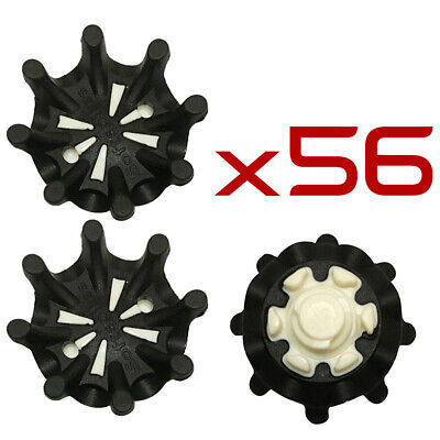 14/28/42/56PCS Golf Shoe Spikes Replacement Cleats Fast Twist For Footjoy Black