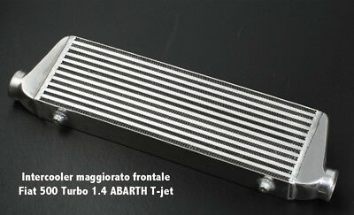INTERCOOLER maggiorato frontale Fiat 500 Turbo 1.4 ABARTH T-jet