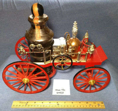 Vintage Jim Beam 1867 Mississippi Fire Engine No. 313 Decanter – Empty