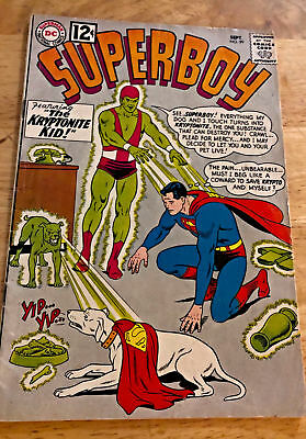 SUPERBOY #99 1962 2nd App Kryptonite Kid Nice Copy Classic DC Silver Age