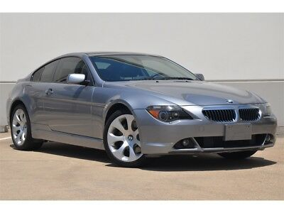 2004 6-Series 645Ci COUPE SMG TRANSMISSION PANO ROOF 47K MILES 2004 BMW 645ci COUPE SMG TRANSMISSION PANO ROOF 47K ORIGINAL MILES TX CAR CLEAN