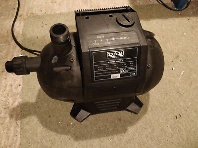 Automatic On/Off Pressurisation System Water Pump BOOSTER SILENT 4  DAB