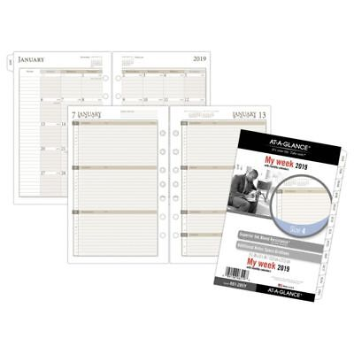 "AT-A-GLANCE® Day Runner® Weekly/Monthly Planner Refill, Size 4, 5 1/2"" x 8 1/2"","