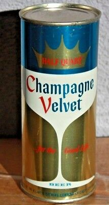 Chicago MINT 16 oz. Unlisted?? Flat Top Champagne Velvet Beer Can, ILLINOIS